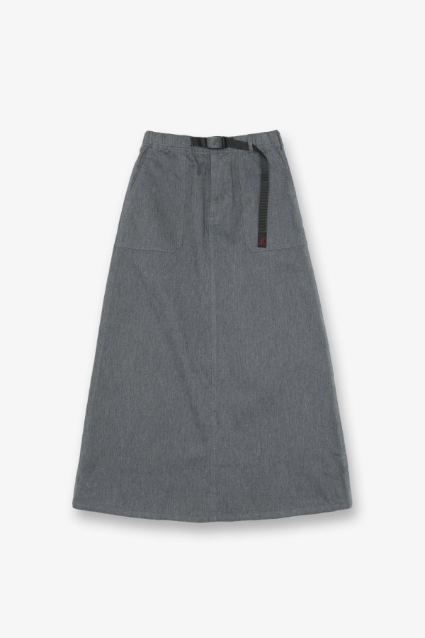 BAKER SKIRT HEATHER GREY