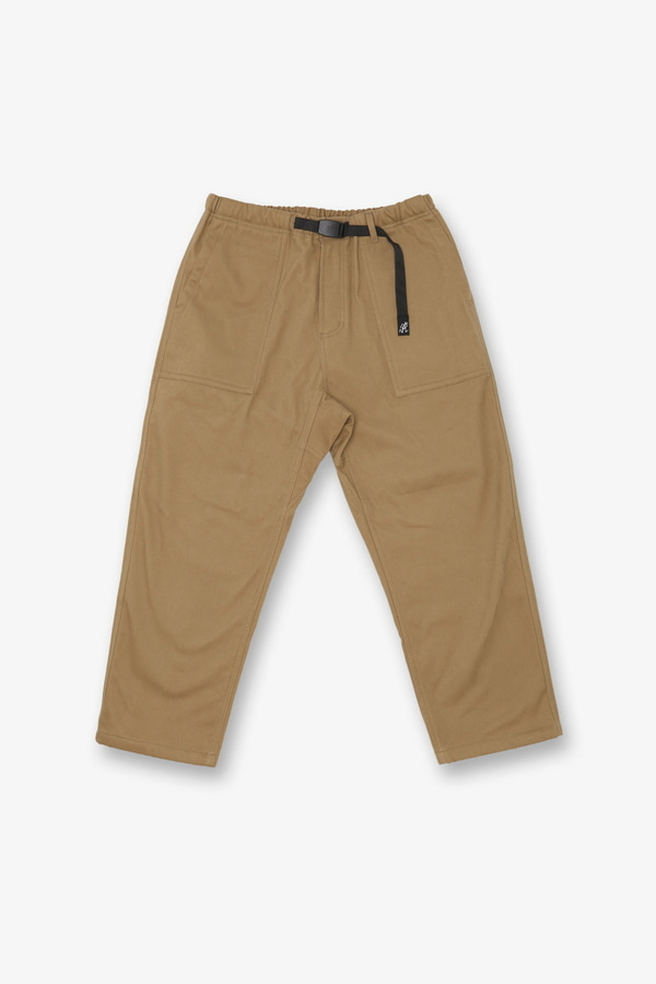 BONDING TWILL LOOSE TAPERED PANTS CHINO
