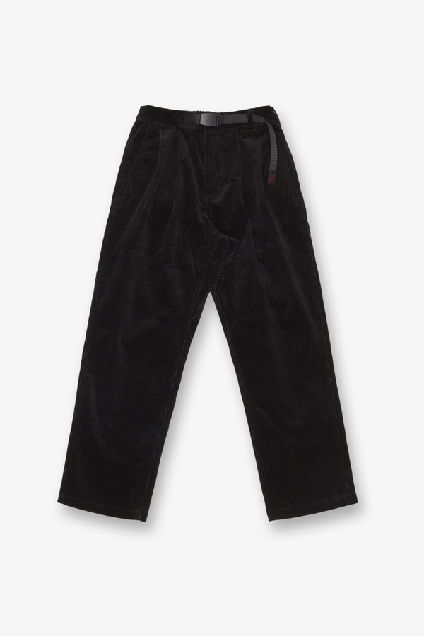 CORDUROY GURKHA PANTS BLACK