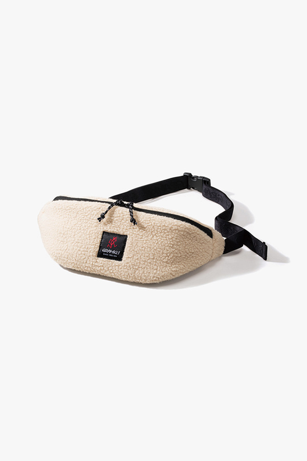 BOA FLEECE BODY BAG IVORY