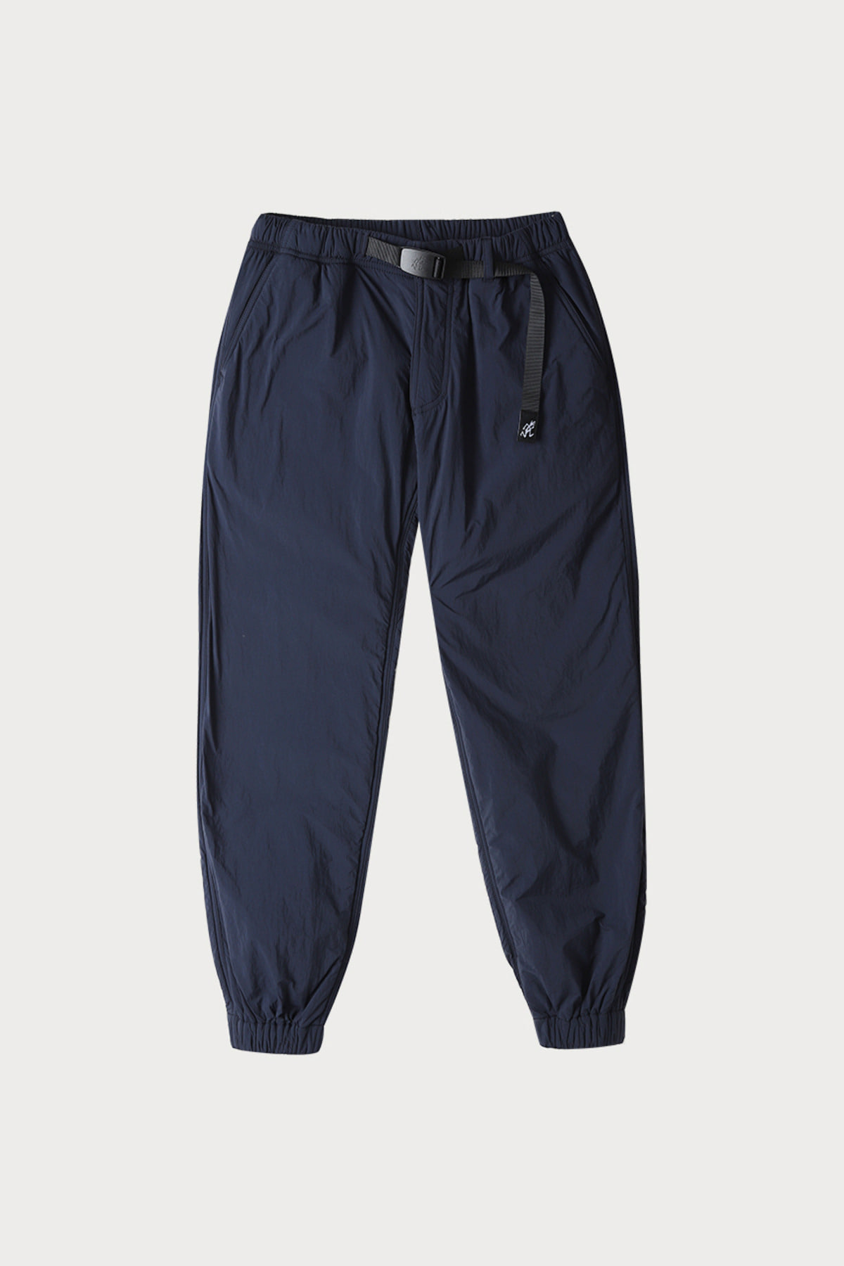NYLON FLEECE PANTS DOUBLE NAVY