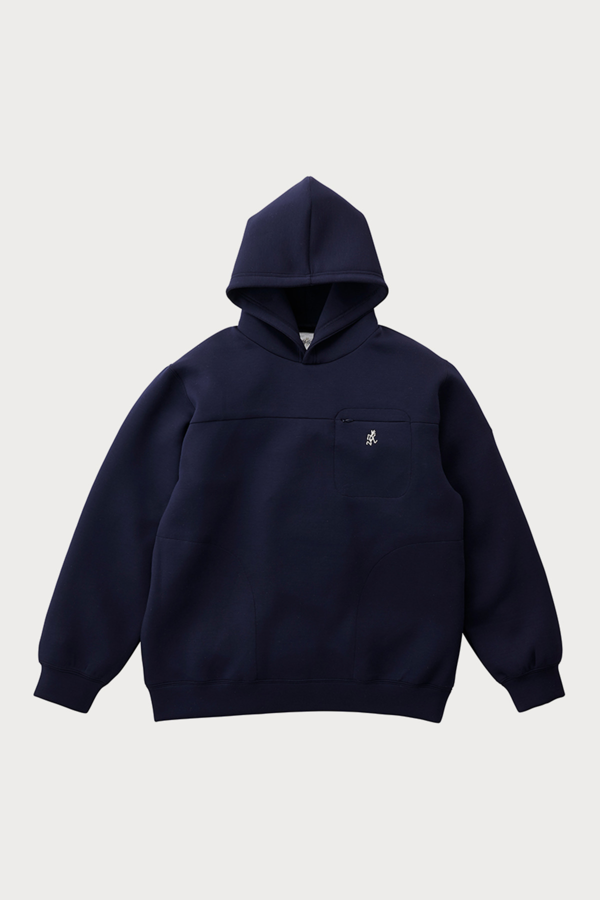 TECH KNIT PARKA DOUBLE NAVY