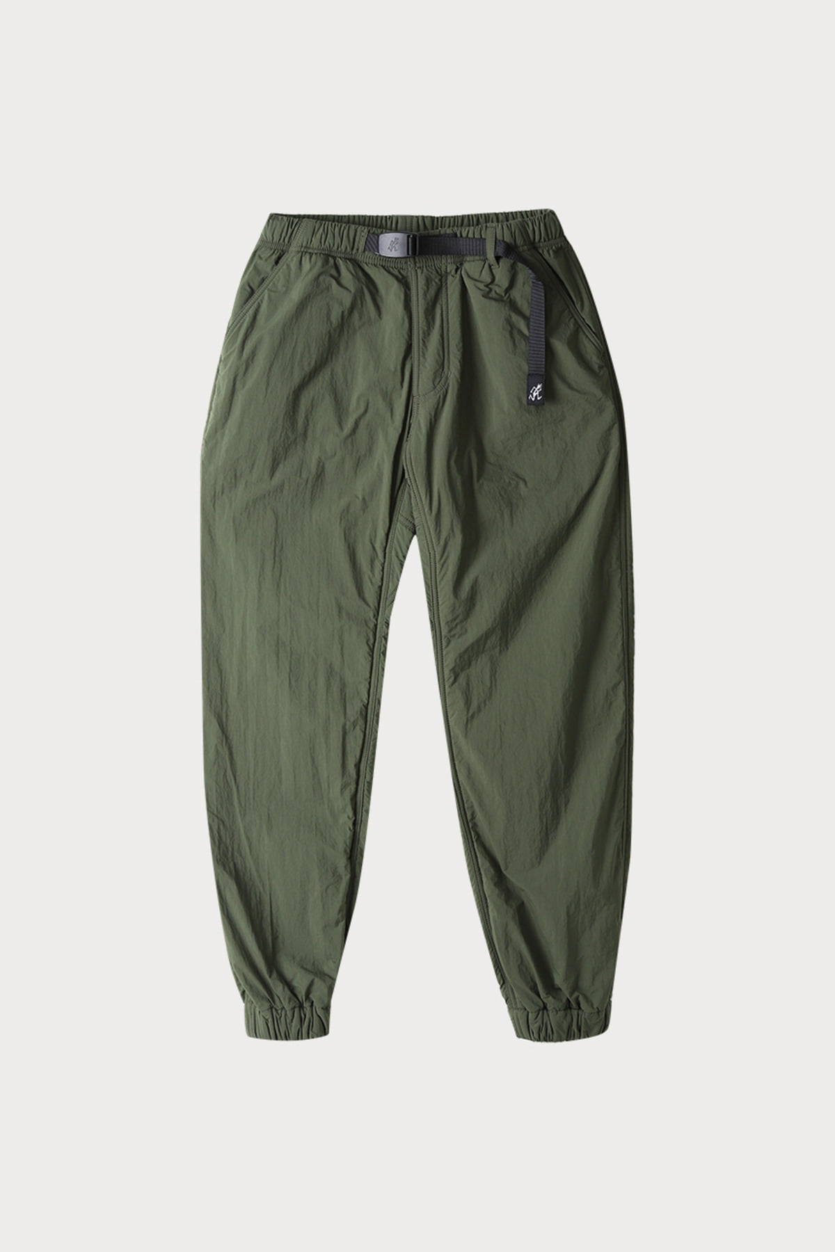 NYLON FLEECE PANTS OLIVE