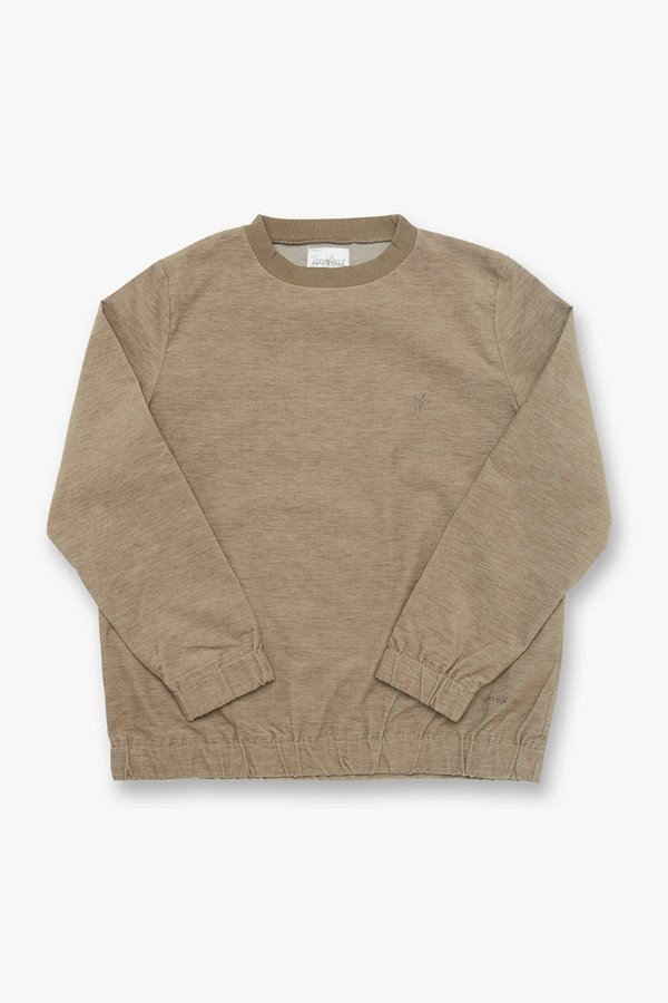 AMERICAN VELVETEEN SWEAT SHIRTS BEIGE HEATHER