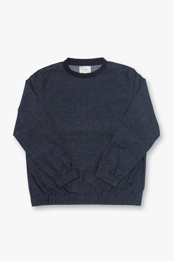 AMERICAN VELVETEEN SWEAT SHIRTS NAVY HEATHER