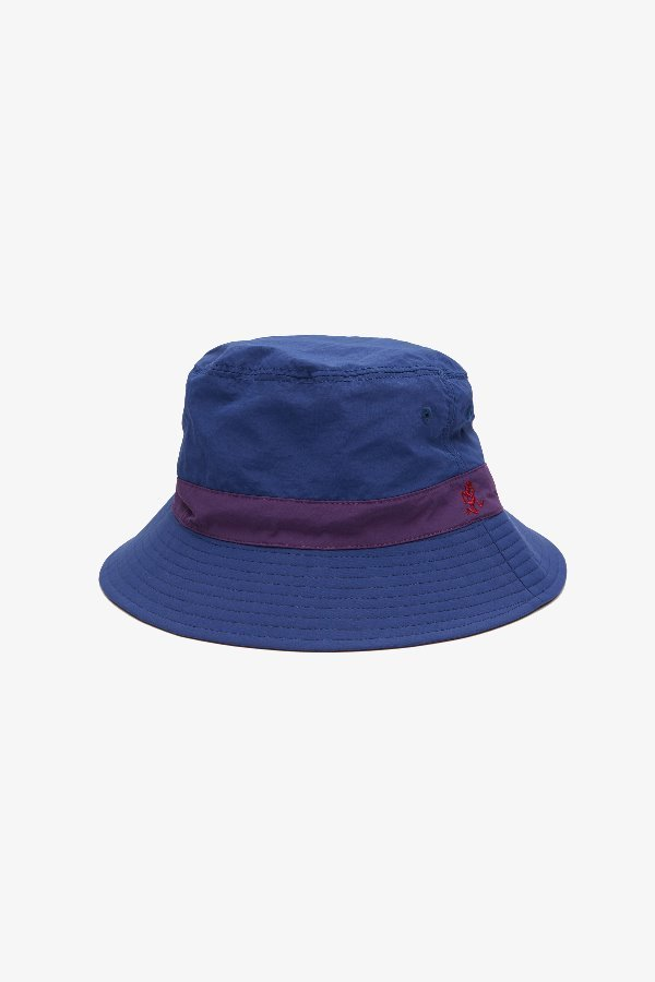 SHELL REVERSIBLE HAT NAVY x PURPLE