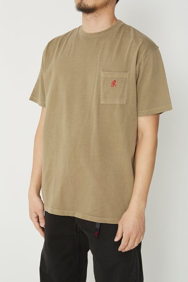 ONE POINT T-SHIRTS BEIGE