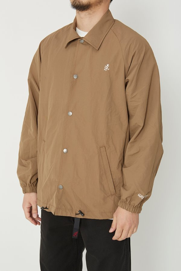 SHELL COACHES JACKET TAN