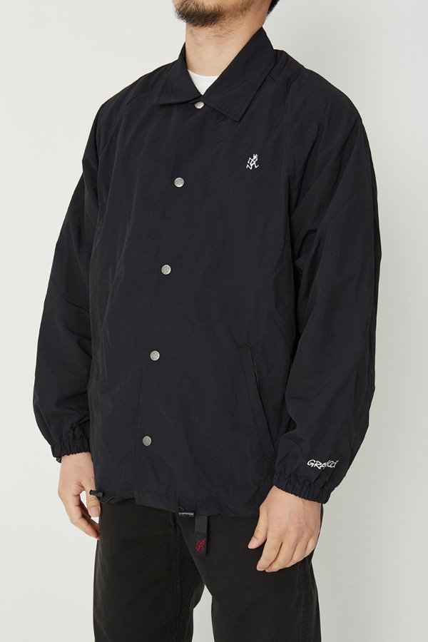 SHELL COACHES JACKET BLACK