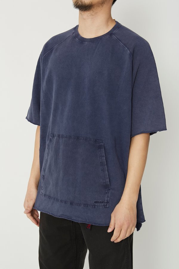 S/S TALECUT SWEAT DOUBLE NAVY