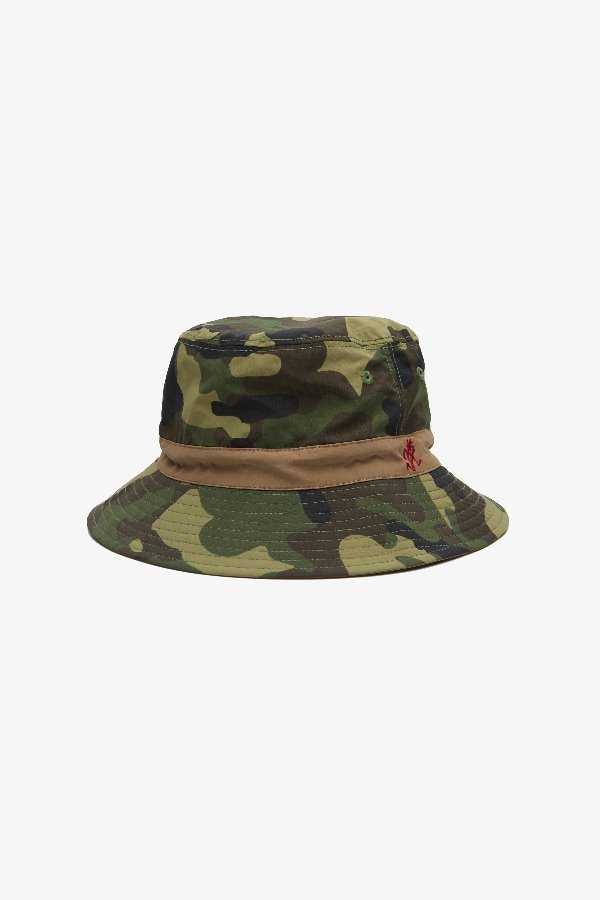 SHELL REVERSIBLE HAT CAMO x TAN