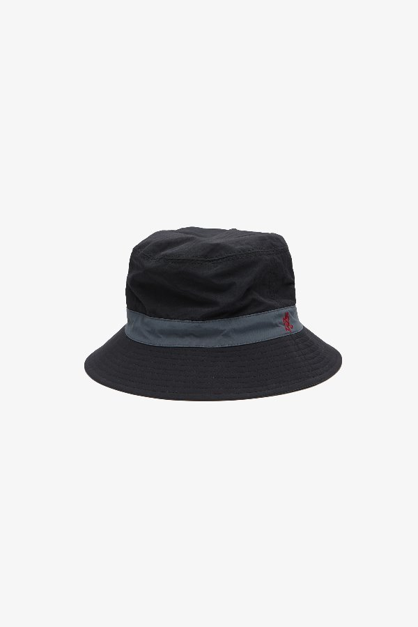 SHELL REVERSIBLE HAT BLACK x CHARCOAL