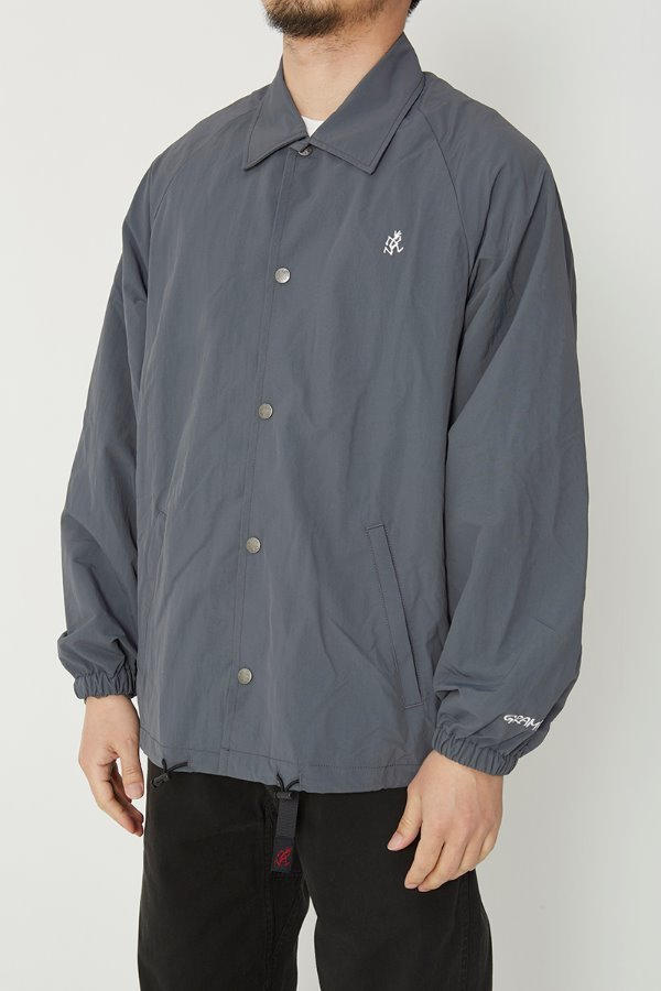 SHELL COACHES JACKET CHARCOAL