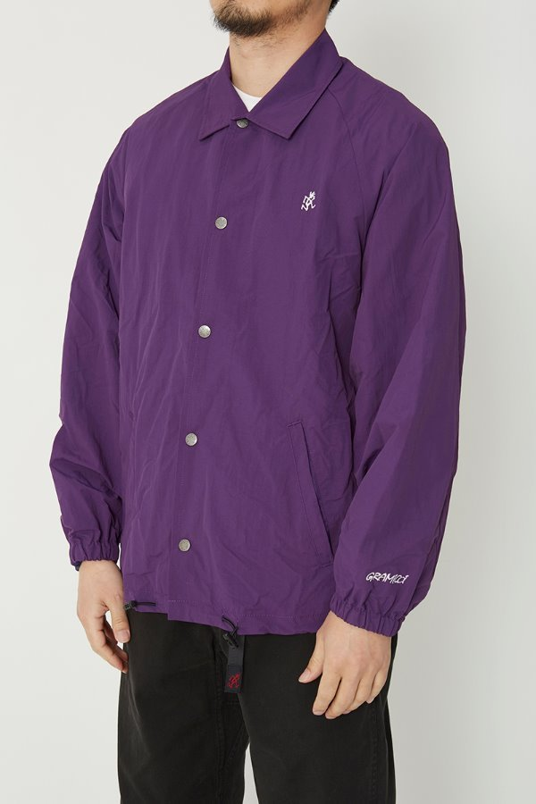 SHELL COACHES JACKET PURPLE