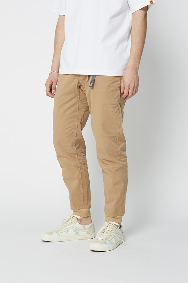 STRETCH TWILL RIB PANTS CHINO