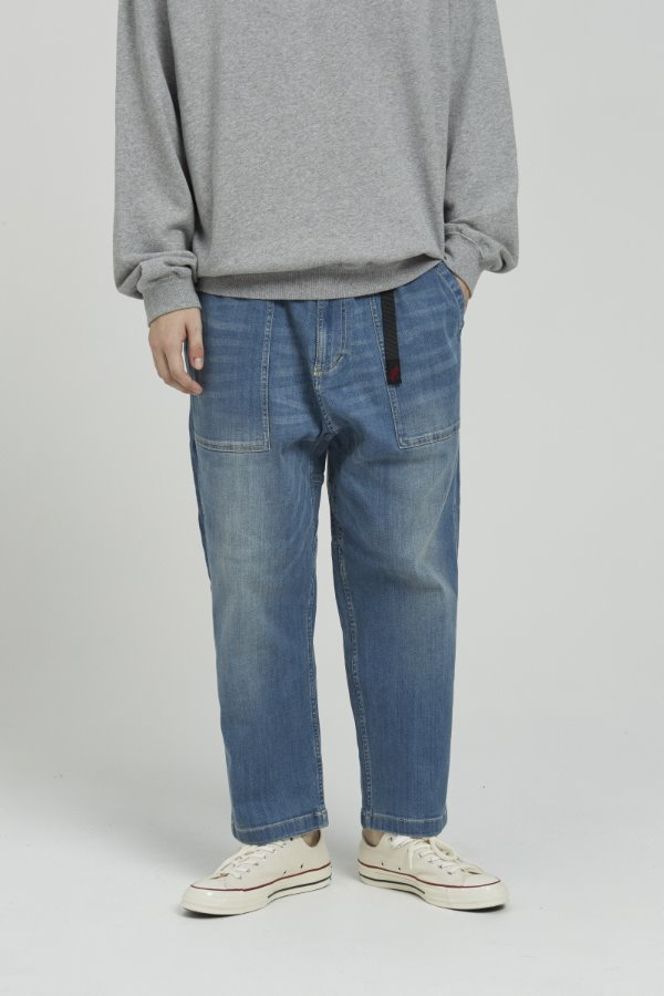 DENIM LOOSE TAPERED PANTS MEDIUM USED