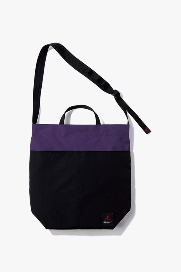 GRAMICCI SHOPPER BLACK x PURPLE
