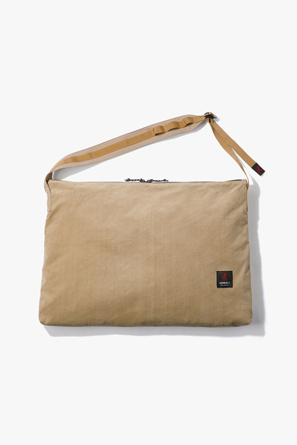 CORDUROY BIG SHOPPER BEIGE