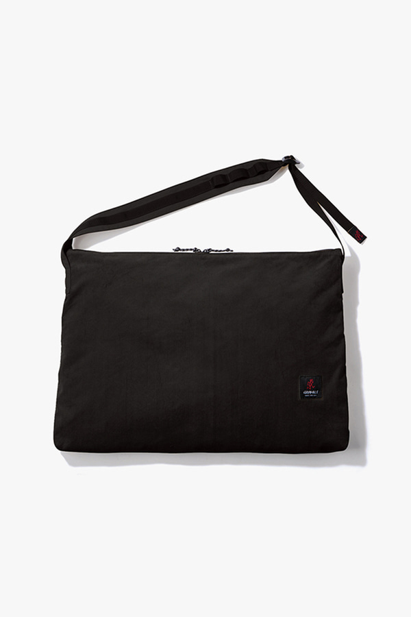 CORDUROY BIG SHOPPER BLACK