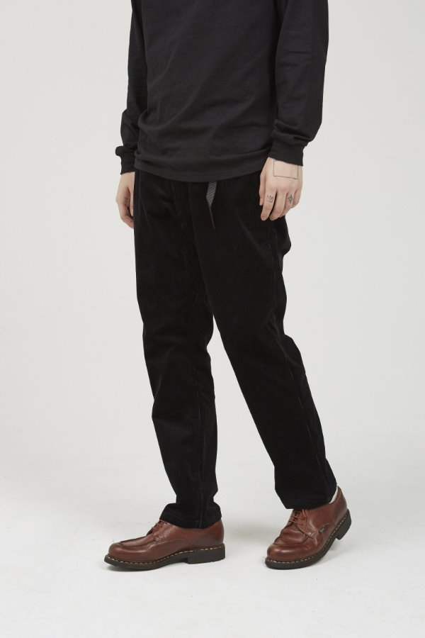 CORDUROY NN-PANTS JUST CUT BLACK