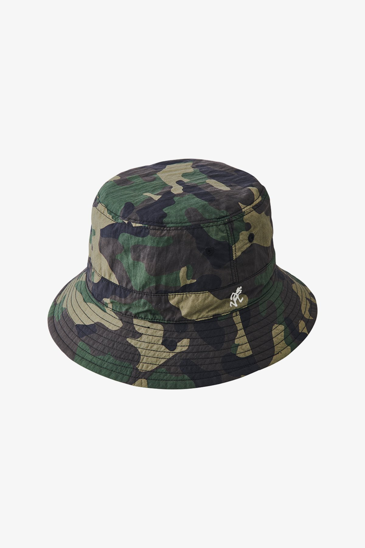 SHELL REVERSIBLE HAT CAMO x BLACK