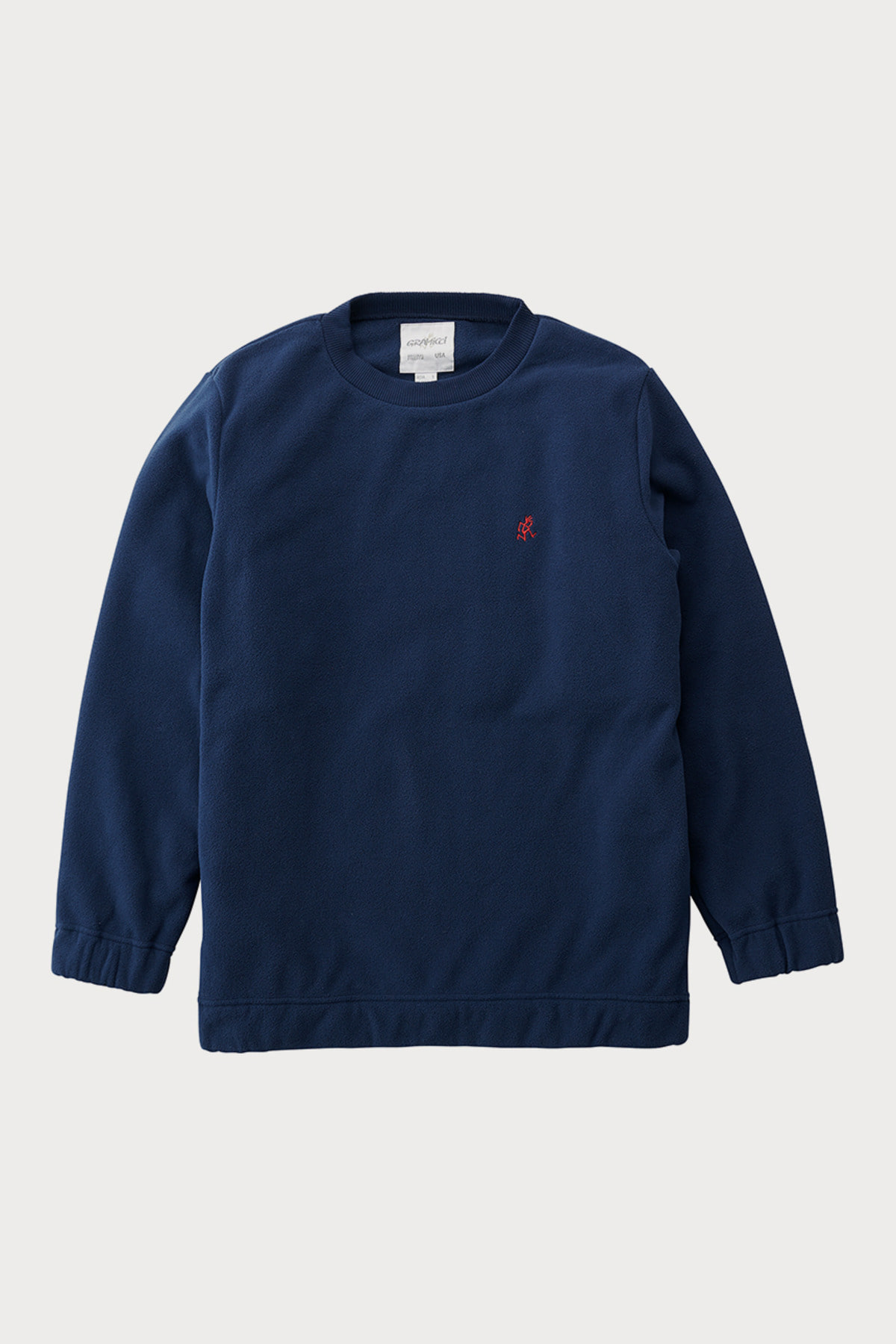 FLEECE CREW NECK NAVY