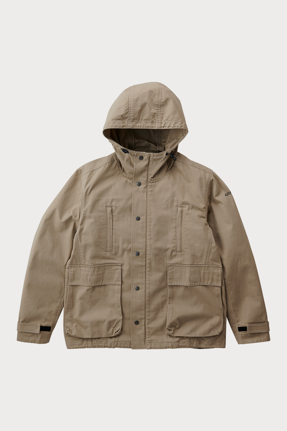 BACK SATIN MOUNTAIN PARKA DESERT