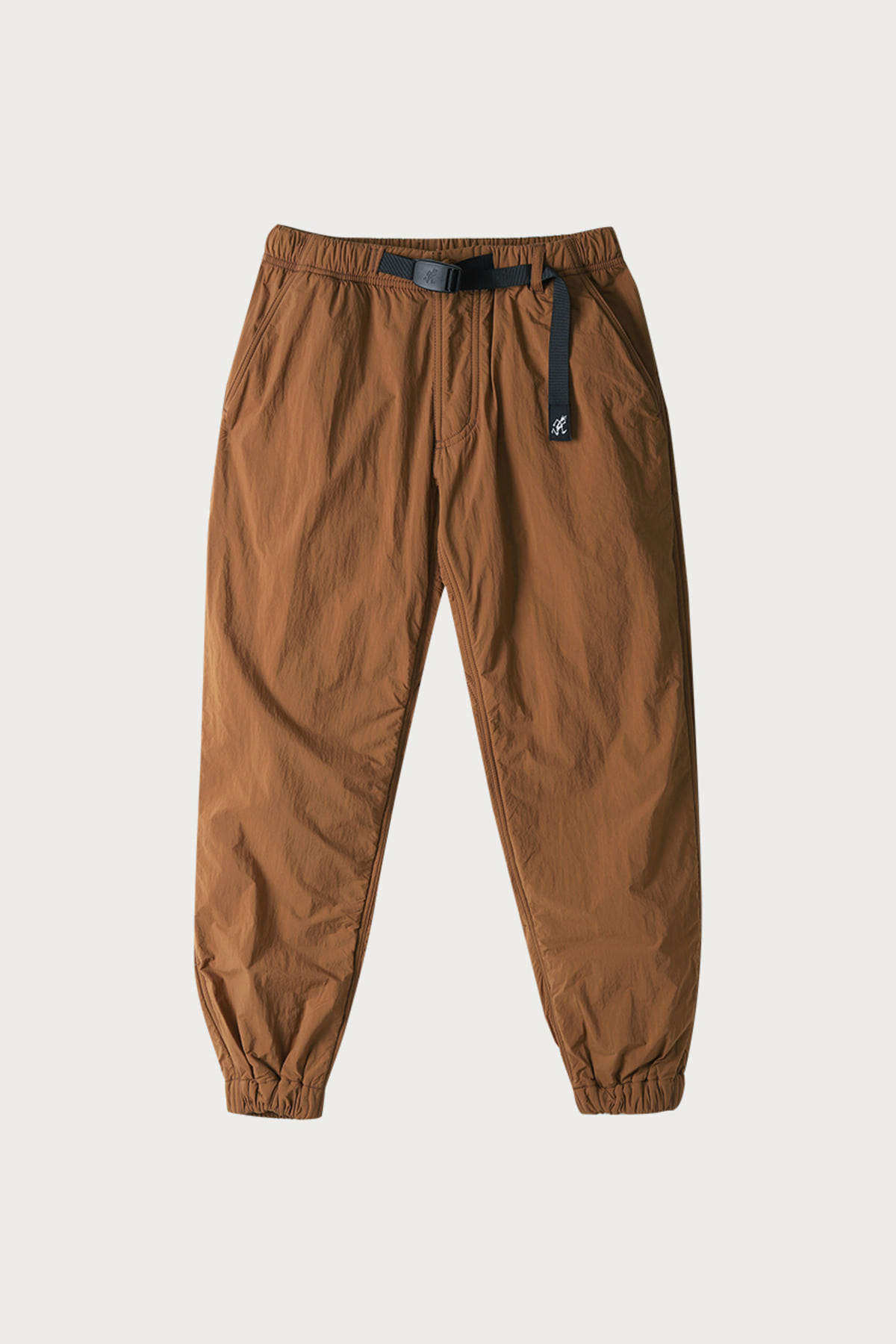 NYLON FLEECE PANTS MOCHA